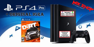Playstation 4 PRO 1TB + ORIGINAL IGRA DIRT 4 rally PS4