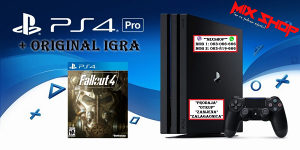 Playstation PRO 1TB + ORIGINAL IGRA FALLOUT 4 PS4 1 TB