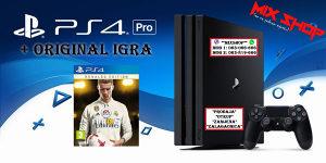 Playstation 4 PRO 1TB +IGRA FIFA 18 RONALDO EDITION PS4