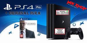 Playstation 4 PRO 1TB + ORIGINAL IGRA HITMAN PS4 1 TB