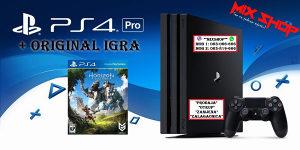 Playstation 4 PRO 1TB + IGRA HORIZON ZERO DAWN PS4