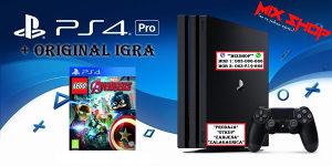Playstation 4 PRO 1TB + IGRA LEGO MARVEL AVENGERS PS4