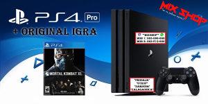 Playstation 4 PRO 1TB + IGRA MORTAL KOMBAT XL PS4 X