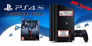Playstation 4 PRO 1TB + ORIGINAL IGRA PREY PS4 1 TB