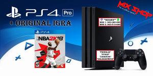 Playstation 4 PRO 1TB +ORIGINAL IGRA NBA 2K18 18 PS4 TB