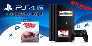 Playstation 4 PRO 1TB +IGRA NEED FOR SPEED PAYBACK PS4