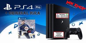 Playstation 4 PRO + ORIGINAL IGRA NHL 17 2017 hokej PS4