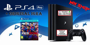 Playstation 4 1TB PRO + IGRA PES 2018 18 PREMIUM PS4