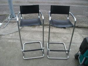 Stolice barske masivne 2 komada