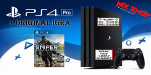Playstation 4 PRO 1TB +IGRA SNIPER GHOST WARRIOR 3 PS4