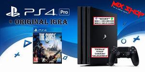 Playstation 4 PRO 1TB +ORIGINAL IGRA THE SURGE PS4 1 TB