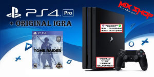 Playstation 4 PRO 1TB + ORIGINAL IGRA TOMB RAIDER PS4