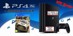 "Playstation 4 PRO 1TB + ORIGINAL IGRA WRC 6 ""rally"" PS4"