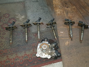 Pumpa visokog pritiska dizne  audi a6 feislift