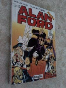 Alan Ford 82-Dozvola