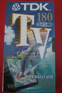 VHS video kaseta