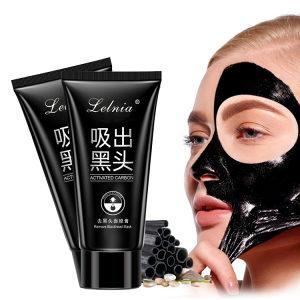 Crna maska za lice black mask LELNIA