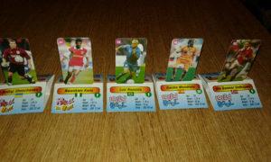 5 Kartica fudbalera