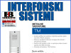 Tastatura za audio interfon sa 4 tastera i mz 1ALR4