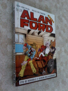 Alan Ford 106-Sto se dogodilo s Guidom Mcchvarkom
