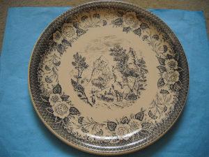 Ukrasni keramički tanjir