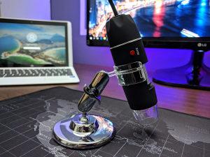 Usb digitalni android pc mikroskop kamera [40 1000x] kompjuteri