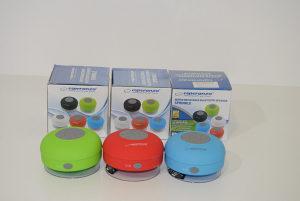 Vodootporni Bluetooth Zvučnici /Crveni/Zeleni/Plavi