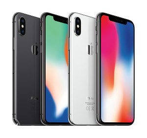 Apple iPhone X 64GB------silver/space gray