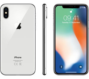 Apple iPhone X 256GB silver/space gray