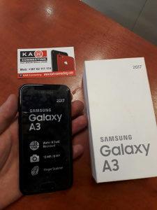 Samsung Galaxy A3 2017 black KAO NOV