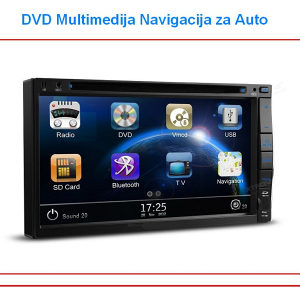 "Auto Radio Navigacija 7"" , DVD, MP3 ,RDS Touch, Color"