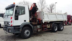 IVECO TRAKKER 350 6x4 Kiper Kran