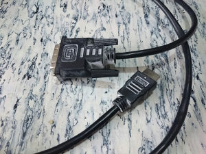 Adapter HDMI muski - DVI muski 1.5m