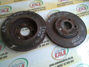 Prednji disk diskovi A B Klasa 2.0 CDI KRLE 14432
