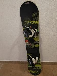 Snowboard Nitro Ripper 137cm Daska i vezovi snow board