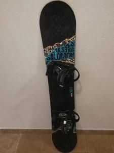 SALOMON Pulse 166 cm Wide Snowboard Daska vezovi board