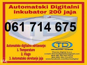 """Automatski Inkubator 200 jaja """"Thermo Digital d.o.o."""""""