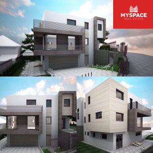 Idejni projekat za gradnju objekta/Novo Sarajevo/454 m2