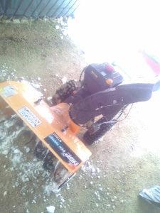 Masina za snijeg