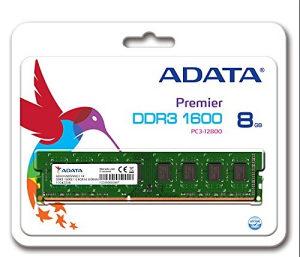 Ram memorija Adata 8GB DDR3 1600