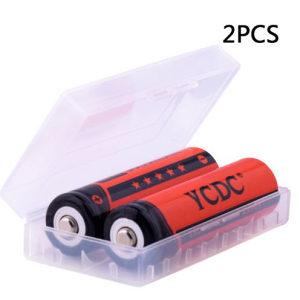 Baterije punjive 18650 - 2 kom.
