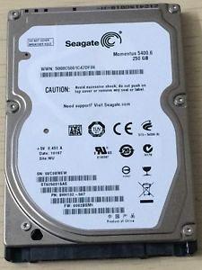 Hard disk za laptop Seagate 250GB