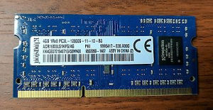 Memorija Kingston za laptop 4GB DDR3