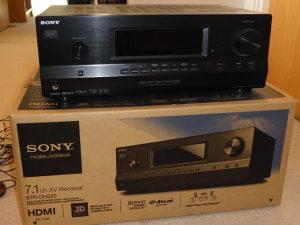 Sony A/V Receiver STR-DH520 7.1