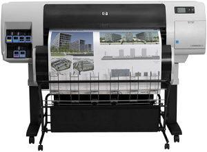 Ploter - Plotter HP Designjet T7100 bez boja