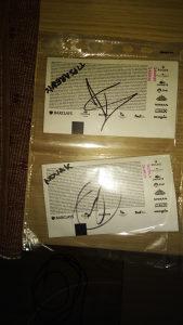 Autogram Djokovic i Tipsarevic