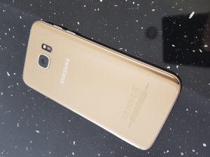 Samsung Galaxy S7 edge Gold - 670Km fiksno