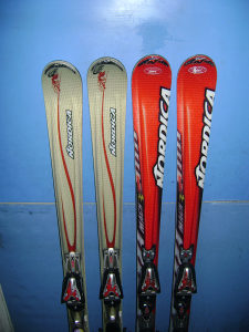 Skije Nordica 162cm