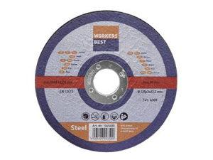 Rezne ploče za metal 125x3,0x22mm 5/1