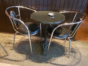 Ugostiteljske stolice inox-koža